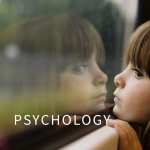 girl window text with Psychology
